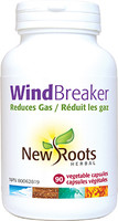 New Roots Wind Breaker, 90 Veg Capsules | NutriFarm.ca