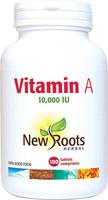 New Roots Vitamin A, 100 Tablets | NutriFarm.ca