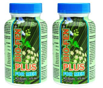 Biofen plus for men, 60 Capsules * 2 | NutriFarm.ca