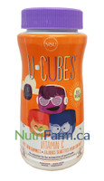 SISU U-Cubes Vitamin C, 90 Pectin Gummies | NutriFarm.ca
