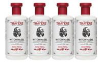 THAYER'S ALCOHOL-FREE TONER WITH ROSE PETAL WITCH HAZEL, 355 ml * 4 | NutriFarm.ca