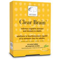 New Nordic Clear Brain, 60 coated tablets | NutriFarm.ca