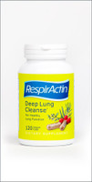 RespirActin Deep Lung Cleanse, 120 Capsules   NutriFarm.ca