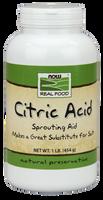 NOW Citric Acid, 454 g | NutriFarm.ca