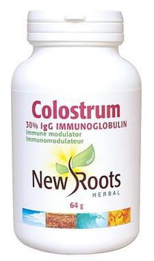 New Roots Colostrum (powder), 64 g | NutriFarm.ca