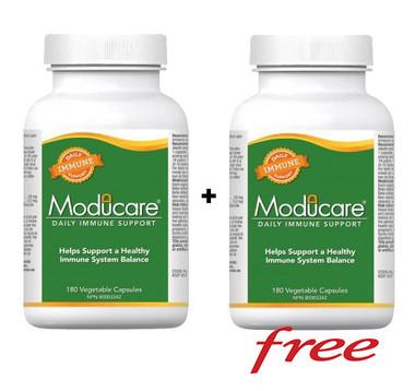 (BOGO) Moducare, 180 + 180 (FREE) Vegetable Capsules   NutriFarm.ca