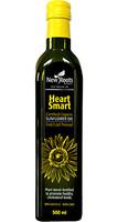 New Roots Heart Smart Certified Organic Sunflower Oil, 500 ml | NutriFarm.ca