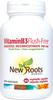 New Roots Vitamin B3 Flush-Free 100 mg, 60 vegetable capsules | NutriFarm.ca