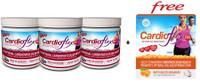Bundle Deal) Innotech Cardio Flex Q10 Cranberry/Blueberry, 300g x 3 + Bonus Item | NutriFarm.ca