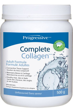 Progressive Complete Collagen Unflavoured, 500 g | NutriFarm.ca