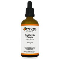 Orange Naturals California Poppy Tincture, 100 ml | NutriFarm.ca