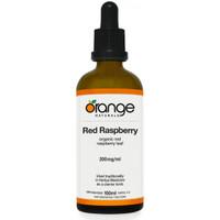 Orange Naturals Red Raspberry Tincture, 100 ml   NutriFarm.ca