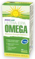RENEW LIFE Norwegian Gold Ultra EPA, 30 Capsules   NutriFarm.ca