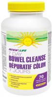 RENEW LIFE 7 Day Bowel Cleanse, 70 Vegetable Capsule | NutriFarm.ca