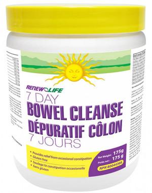 RENEW LIFE 7 Day Bowel Cleanse, 175 g   NutriFarm.ca