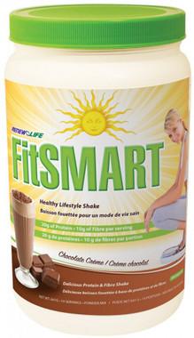 RENEW LIFE FitSMART Shake Chocolate Crème, 641 g | NutriFarm.ca