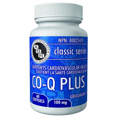 AOR Co-Q Plus, 60 Softgels | NutriFarm.ca