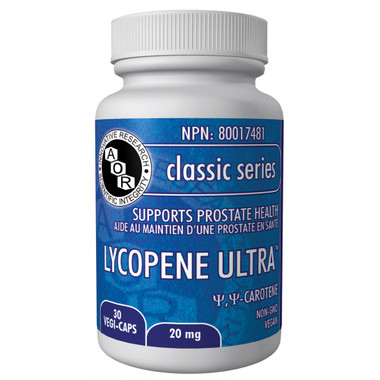AOR Lycopene Ultra, 30 Vegetable Capsules | NutriFarm.ca