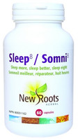 New Roots Sleep 8, 60 Capsules | NutriFarm.ca