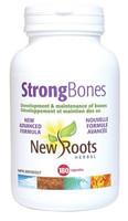 New Roots Strong Bones, 180 Capsules | NutriFarm.ca