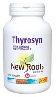 New Roots Thyrosyn, 60 Capsules | NutriFarm.ca