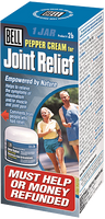 Bell Pepper Cream for Joint Relief, 60 ml Jar | NutriFarm.ca