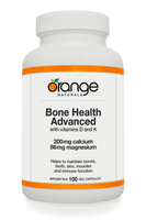 Orange Naturals Bone Health Advanced, 100 Vegetable Capsules | NutriFarm.ca