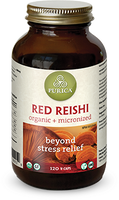 Purica Red Reishi, 120 Veg Caps | NutriFarm.ca