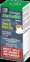 Bell Sleep & Relax Tea, 20 bags (1.5 g each) | NutriFarm.ca
