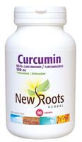 New Roots Curcumin 500 mg, 90 Capsules   NutriFarm.ca
