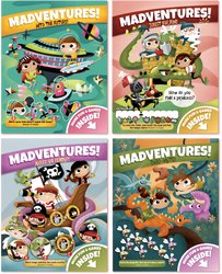Madventures 4 Variety Pack | Covers
