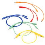 Hosa CMM-500Y-MIX Hopscotch Patch Cables 5 pc Mixed Lengths