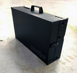 Intellijel 7U x 104HP Performance Case Stealth Black- 2 Tier + 1U with Power
