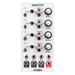 Intellijel Quad VCA - Quad Coltage Controlled Amplifier and Cascaded Mixer