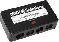 MIDI Solutions 4 in 1 out Quadra Merge Box