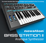 Novation Bass Station II - Analogue Synthesizer