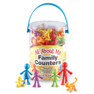 Counters All About Me Family Counters 72pcs