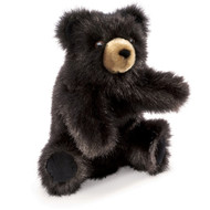Baby Black Bear Puppet by Folkmanis