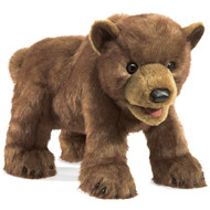 Brown Bear Cub Puppet by Folkmanis