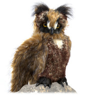 Great Horned Owl Puppet by Folkmanis