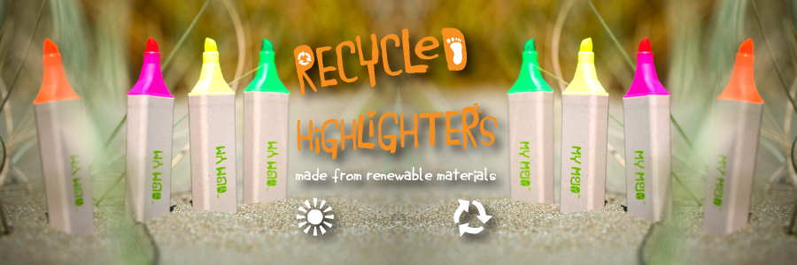 Recycled Highlighters