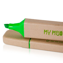 Green Recycled Highlighter