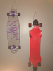 mount skateboards on wall at home