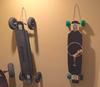 hang my longboard skateboard