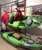 freestanding fishing kayak rack
