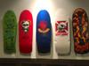 best skateboard art display