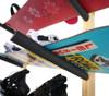 snowboard wall mount rack