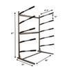 sup storage freestanding floor rack
