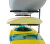 storage system for multiple surfboards