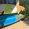 freestanding sup and kayak storage